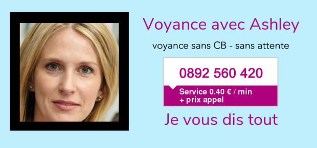 Ashley en voyance gratuite